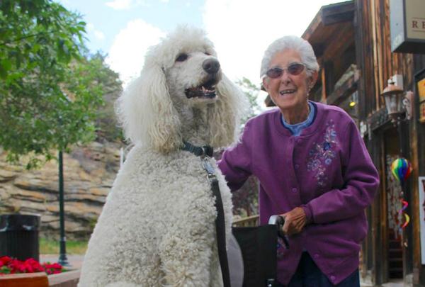 anciana decide viajar