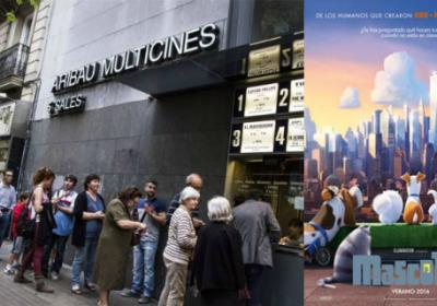 Sala de Cine en Madrid
