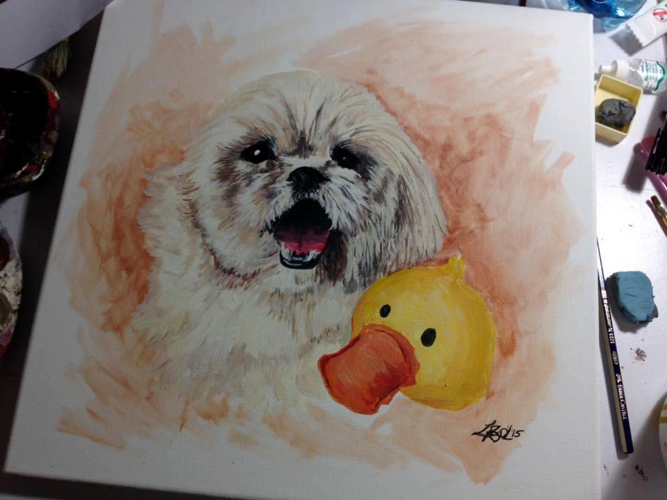 Arte de mascotas de Raquel Recinos2