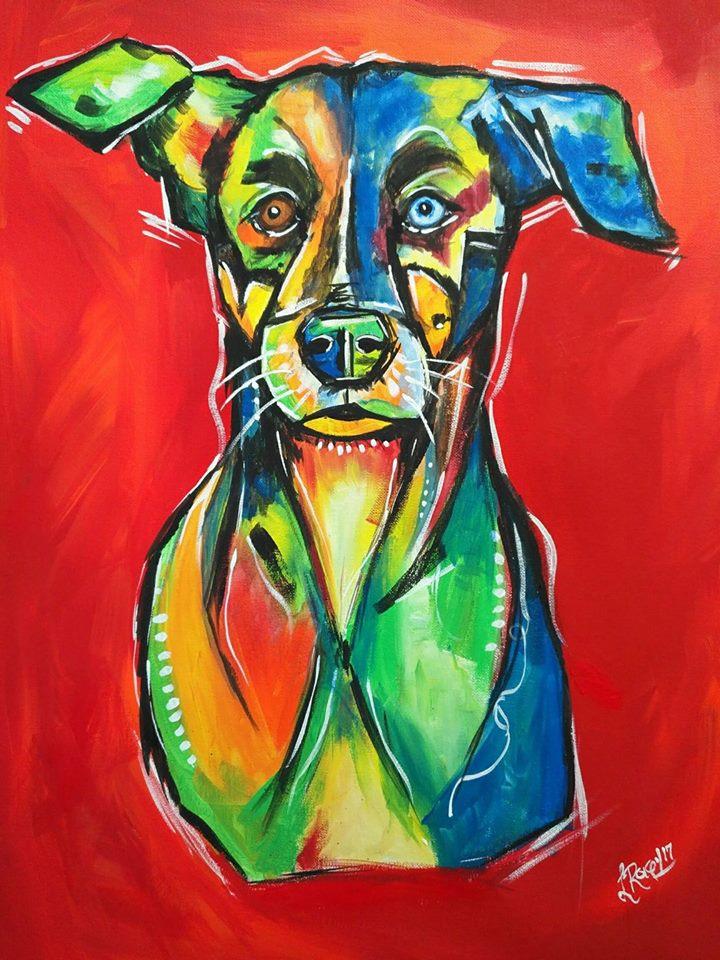 Arte de mascotas de Raquel Recinos
