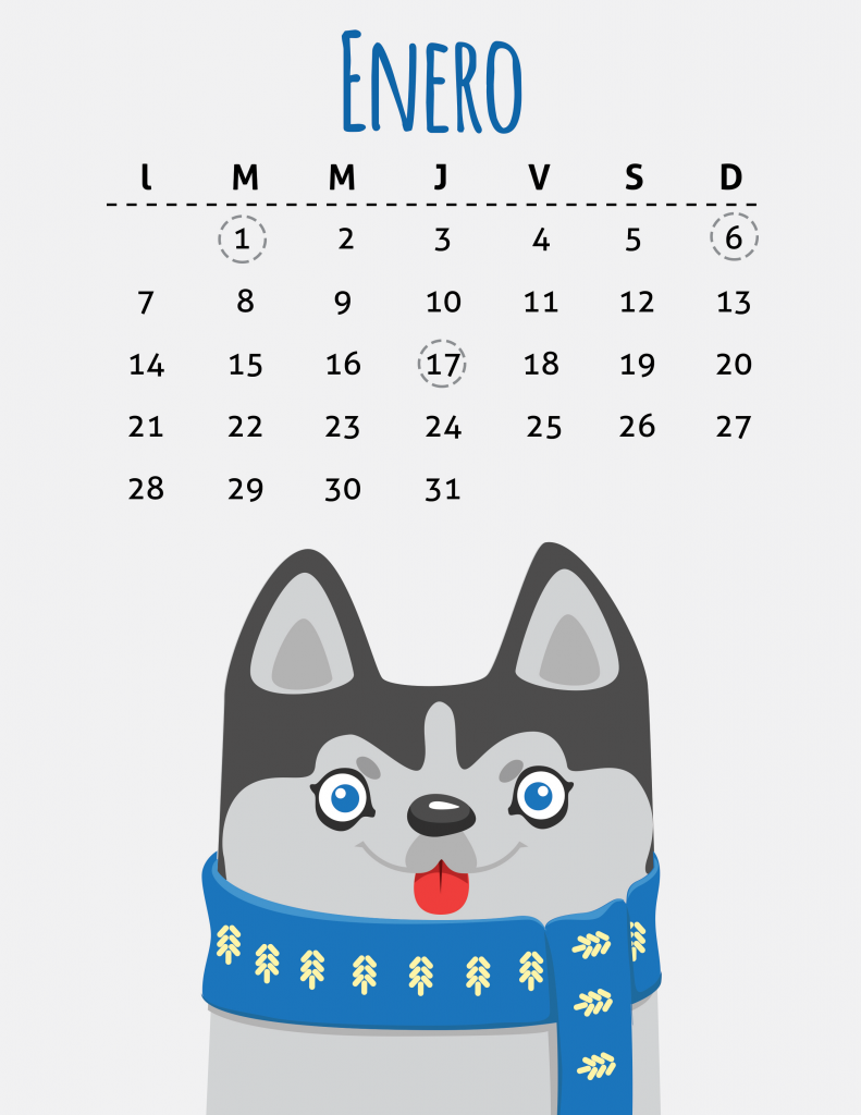 Calendario Perruno.Calendario Petmi 2019 Fechas Importantes Para Pet Lovers