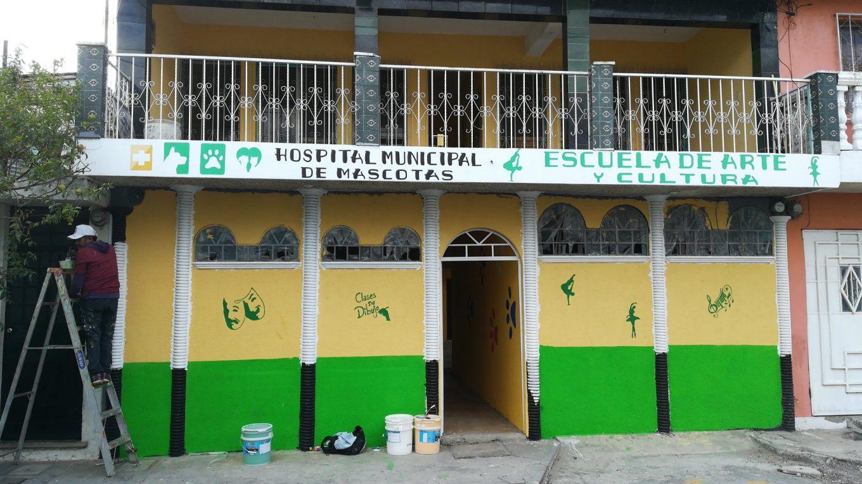 hospital municipal de mascotas en San Miguel petapa