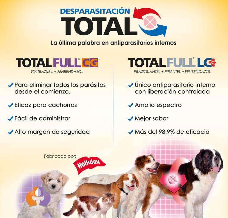 Total Full, desparasitante para perros y gatos