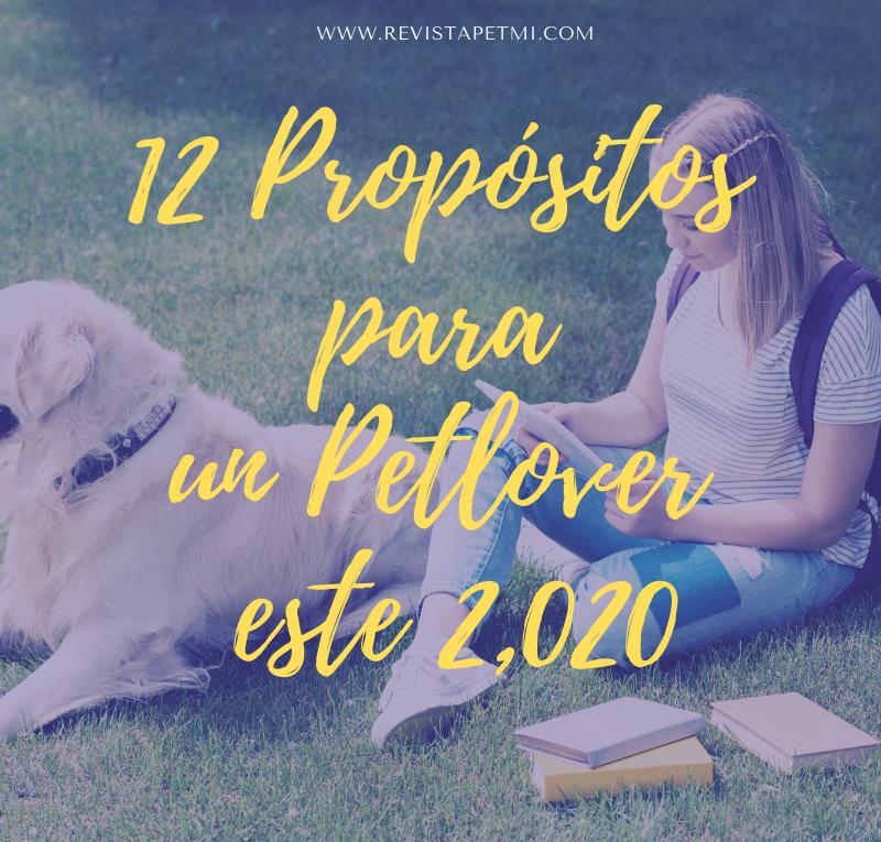 12 proposito para un pet lover 2020