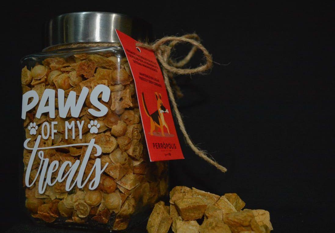 Nuevos treats 100% naturales