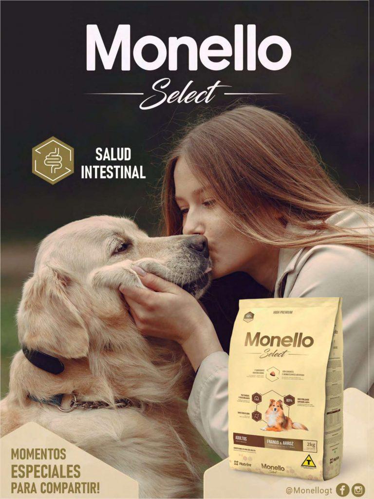 Monello, un alimento premium para perro o gato
